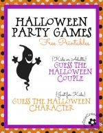 Halloween Party Games for Kids and Grownups, too!