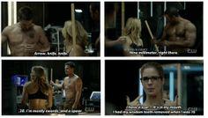 Arrow - Sara, Oliver, Felicity & Diggle #2.14 #Season2
