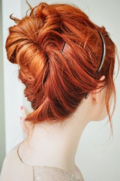 Okay. Totally keeping red for the wedding. Was considering more toned down, but this is too beautiful.