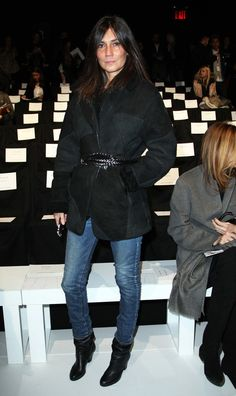 Emmanuelle Alt attends the Autumn/Winter 2013 Lacoste show at New York Fashion Week. Description from zimbio.com. I searched for this on bing.com/images
