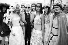 Karl Lagerfeld ~ Chanel Spring 2015