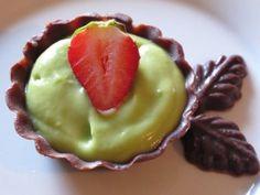 Key Lime Pie With A Chocolate Twist