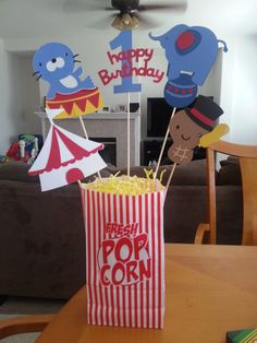 Circus / Carnival Party Centerpieces or Banners by IDPartyDesigns, $6.00