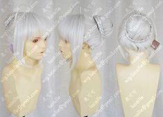 Hot hittebestendige kanekalon party haar>> sabel afneembaar belangrijkste deel cosplay pruik zilverwit/blond in Van harte welkom om onze winkel!Directe fabrikanten, groothandel en detailhandel, veel meer kopen stuu van synthetische pruiken op AliExpress.com | Alibaba Groep