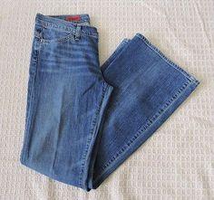 AG Adriano Goldschmied THE LEGEND Women Blue Flare 3 Jeans Size 30 Regular