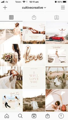 Start feeling the love with our wedding collection. From each post you will share, you get to tell a story that will take your followers away to a place they've only dreamed off. #instagramstory #instagramtips #instagramideas Instagram Story Ideas, Instagram Tips, Instagram Feed, Instagram Posts, Instagram Collage Maker, Insta Layout, Wedding Branding, Instagram Wedding, Instagram Post Template