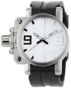 Oakley Men's 10-064 Gearbox Brushed White Dial Watch https://www.carrywatches.com/product/oakley-mens-10-064-gearbox-brushed-white-dial-watch/ Oakley Men's 10-064 Gearbox Brushed White Dial Watch  #oakleywatches #whitewatchesformen More chronograph watches : https://www.carrywatches.com/tag/chronograph-watch/