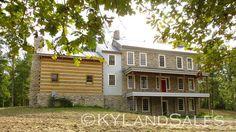 Newly built stone house, Danville, KY