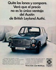La marca española Authi (automóviles de turismo hispano ingleses) fabricó en nuestro país varios coches británicos como el Mini, el Morris o en este caso el Austin.