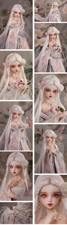 (AS Agency)BJD Limited Edition Hua Rong/White Girl 62cm Ball-Jointed Doll_SD size doll_Angell Studio_DOLL_Ball Jointed Dolls (BJD) company-Legenddoll