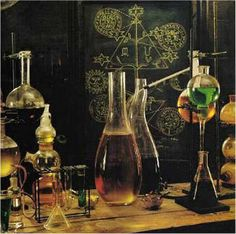 Potions Laboratory, Apothecary