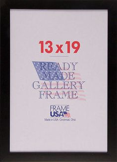 cool 13x19 simple poster frame wplexi glass available in black or white for