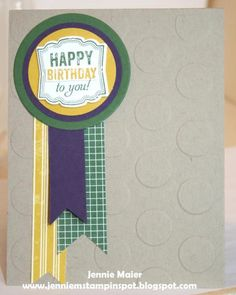 SUO-CC498 & FabFri61 Birthday by CraftyJennie - Cards and Paper Crafts at Splitcoaststampers