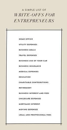 The Entrepreneur's Guide To Tax Season | The Fresh Exchange | online business tips | entrepreneur tips