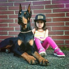 The be baller together. | Community Post: The Friendship Between A Kid And Her Dog Will Melt Your Heart