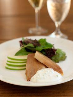 Smoked Trout with Apple-Horseradish Cream