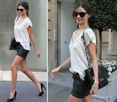 love this outfit by Miranda Kerr