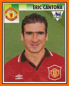 Eric Cantona at Manchester United, 1995.
