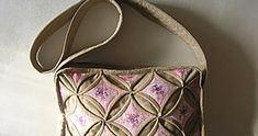 """Bag  in the style of  """"Origami"""". DIY step-by-step tutorial with pictures."""