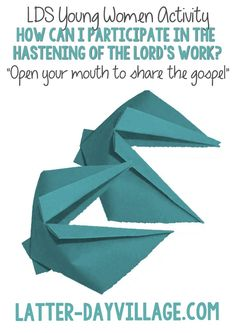 1000+ images about LDS Young Women Lesson Helps on ...
