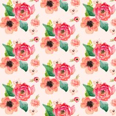 Extra Mini Small Floral Dreams Pink fabric by shopcabin on Spoonflower - custom fabric