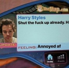 @TrashySoda Harry Styles Memes, Harry Styles Photos, One Direction Humor, One Direction Pictures, Response Memes, No Response, Stupid Memes, Funny Memes, Mtv