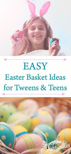 Creative, Clever and Cute Easter Basket Ideas for Your Tweens and Teens. Parenting Books, Parenting Teens, Parenting Advice, Activities For Kids, Crafts For Kids, Book Suggestions, Easter Crafts, Easter Gift, Basket Ideas