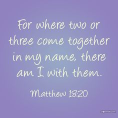 Why our like minded friends on Pinterest are important. We gather together and He is with us!