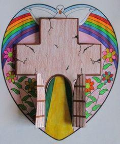 Sunday School Activities, Bible Activities, Sunday School Crafts, Bible Crafts For Kids, Preschool Crafts, Easter Art, Easter Crafts, Easter Religious, Easter Story