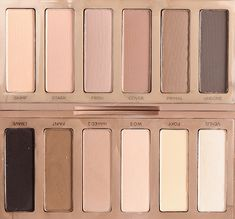 Naked Eyeshadow Palette Basics Urban Decay Basics Eyeshadow Palette side by side to Naked Basics. Makeup Blog, Makeup Inspo, Makeup Inspiration, Beauty Makeup, Eye Palette, Eyeshadow Palette, Makeup Eyeshadow, Eyeshadows, Eyeliner