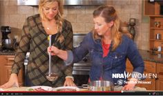 'NRA Women Love at First Shot': Ep. 6 -- Cooking Wild Game 'Family Feast'