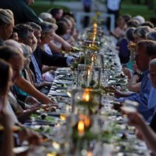 Seed-to-Table Secret Supper at Shaker Village of Pleasant Hill.