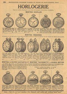Horlogerie - Watchmaking
