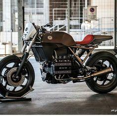 by @motosumisura #k #custom #bike #caferacer #bratstyle #scrambler…