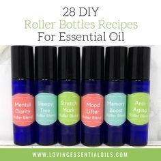 Do you like roller bottle recipes? If so you have to get our free printable roller bottle recipes for essential oils plus get matching roller bottle labels!
