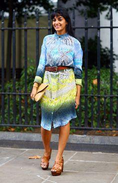 #fashion-ivabellini Peter Pilotto Dress, LDN | Street Fashion | Street Peeper | Global Street Fashion and Street Style