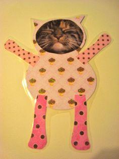 Kitty Kitty Cupcake Kitty magnet by kittykittycupcake on Etsy, $6.00