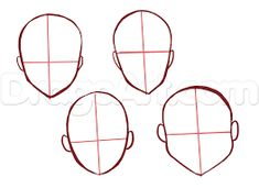 Image result for Anime Face bases