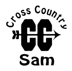 Personalized Sports Track Team Cross Country Vinyl Car Decal via Etsy