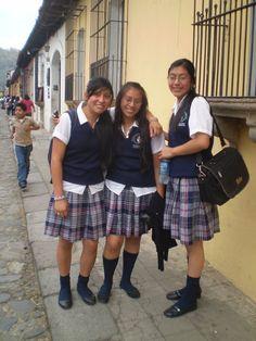 Guatemalan Schoolgirls