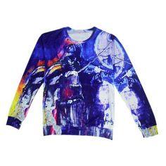 Harajuku new unisex men/women's 3D sweatshirt print tupac/biggie/nicki minai/baked/radiant night sky printing pullover hoddies