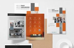 Today, we are sharing 20 Modern Brochure Design Ideas & Template Examples for Your 2019 Projects Brochure Design Samples, Company Brochure Design, Corporate Brochure Design, Creative Brochure, Brochure Design Inspiration, Design Ideas, Brochure Layout, Brochure Template, Design Design