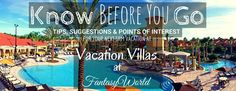 Know Before You Go: Before heading to Vacation Villas at FantasyWorld, check out this helpful information, including what is provided in your unit, nearby attractions and dining, weather, and more! #knowbeforeyougo #vacationvillas #fantasyworld #spmvacations #disneyvacations #kissimmee #fl