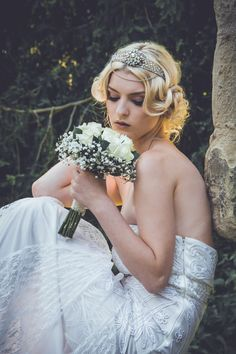 """Constance tiara by Samantha Walden. For more Alternative Wedding inspiration, check out the No Ordinary Wedding article """"20 Quirky Alternatives to the Traditional Wedding""""  http://www.noordinarywedding.com/inspiration/20-quirky-alternatives-traditional-wedding-part-4"""