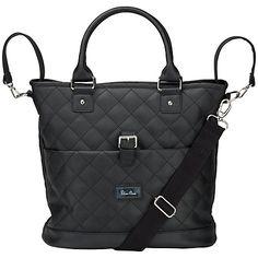 Buy Silver Cross Elegance Changing Bag, Black Online at johnlewis.com