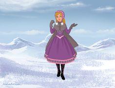 Elena, Daughter of Anna & Kristoff by Disneyfreak3 [©2014]
