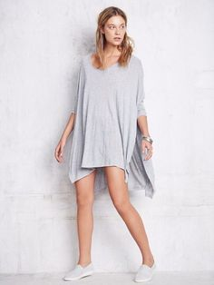 Free People Big Dipper Oversized Tee - love oversized shirts!