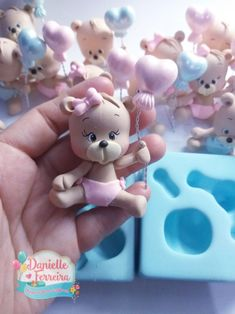 Cake Toppers, Biscuits, Polymer Clay, Baby Shower, Cold Porcelain Ornaments, Key Hangers, Arts And Crafts, Pasta, Frases