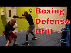 Boxing Defense Drill | Vision and Balance | How to stop flinching - YouTube