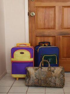 Large family traveling